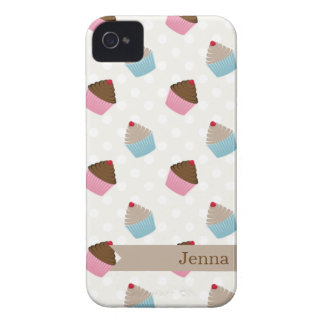 Cute Colorful Cupcakes iPhone Case
