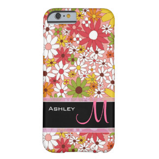 Cute Colorful Daisy Flower Stylish Floral Pattern Barely There iPhone 6 Case