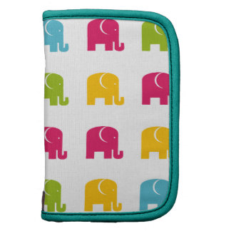 Cute Colorful Elephant Pattern Sleeves Planner