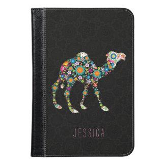Cute Colorful Floral Camel Illustration iPad Mini Case