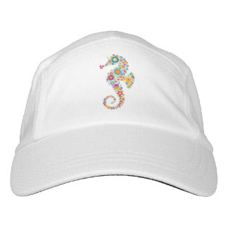 Cute Colorful Floral Sea-horse Hat