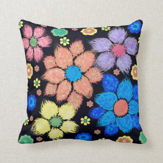Cute Colorful Flower American MoJo Pillows