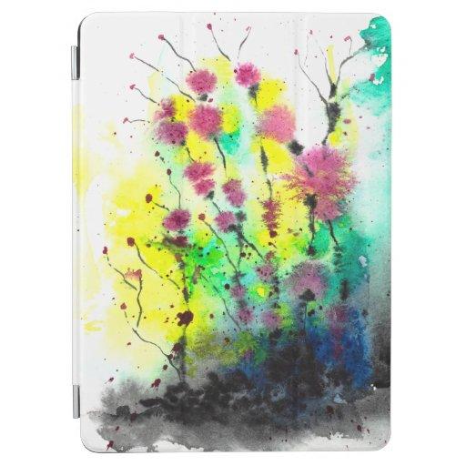 Cute Colorful Flower Design IPad iPad Air Cover