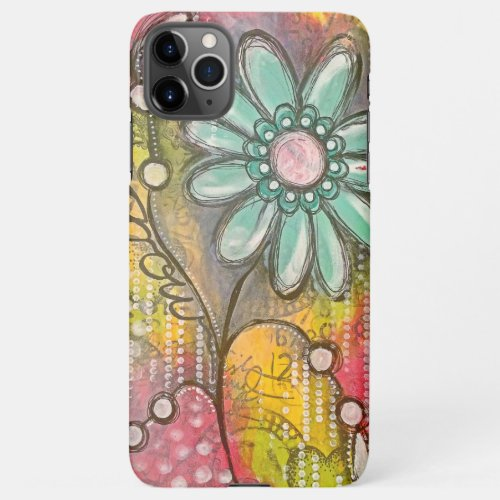 Cute Colorful Flowers Phone Case