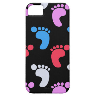 Cute colorful Footsteps iPhone SE/5/5s Case