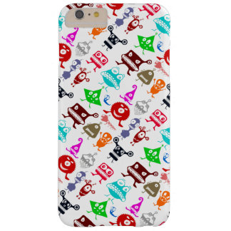 Cute colorful funny monsters patterns barely there iPhone 6 plus case