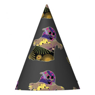 Cute colorful ghost Halloween Party Hat