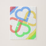 Cute Colorful Hearts Puzzles