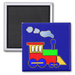 Cute Colorful Kids Train Engine Magnet