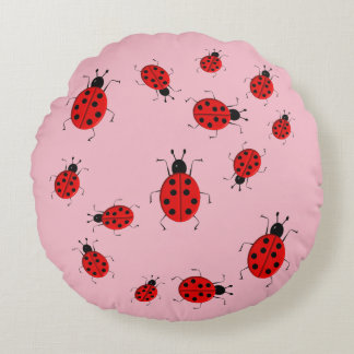 cute pillow clipart. cute colorful ladybugs clip art round pillow clipart