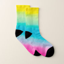 Cute Colorful Ombre Pattern Socks