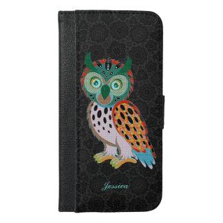 Cute Colorful Owl Illustration