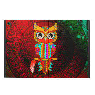 Cute colorful  owl powis iPad air 2 case