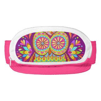 Cute Colorful Owl Visor - Fanny Pack Owl Visor