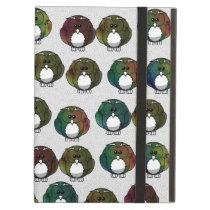 Cute Colorful Owls iPad Air Case