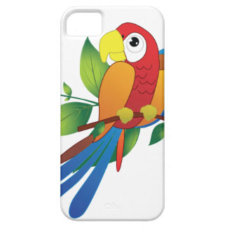 Cute Colorful Parrot iPhone 5 5S iPhone SE/5/5s Case