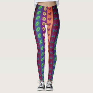 Cute Colorful Pattern Leggings