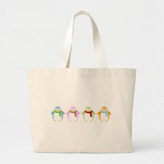 Cute Colorful Penguin Bags