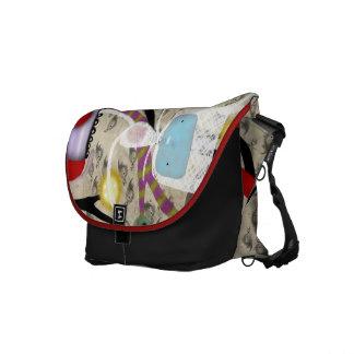 Cute Colorful Rickshaw Messenger Bag