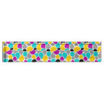 Cute colorful seamless patterns design desk name plate