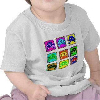 Cute & Colorful Skulls Tee Shirts