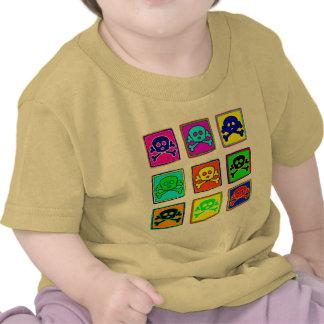 Cute & Colorful Skulls Tshirts