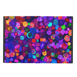 Cute Colorful Spiral Cosmos Patterns Powis Ipad Air 2 Case at Zazzle
