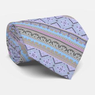 Cute colorful Ukraine ornaments design Neck Tie