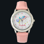 "Cute Colorful Unicorn Personalized Kids Watch<br><div class=""desc"">Cute Colorful Unicorn Personalized Kids Watch</div>"