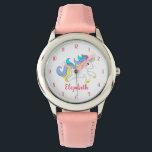 """Cute Colorful Unicorn Personalized Kids Watch<br><div class=""""desc"""">Cute Colorful Unicorn Personalized Kids Watch</div>"""