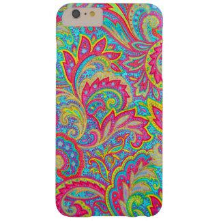 Cute colorful vintage floral design iPhone 6 plus case
