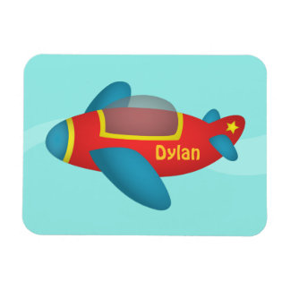 Cute Colourful Aeroplane Jet for Kids Magnet