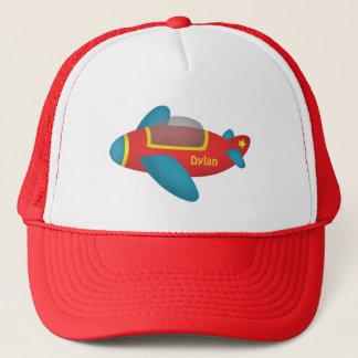 Cute Colourful Aeroplane Jet for Kids Trucker Hat