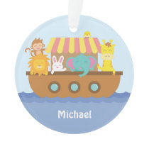 Cute Colourful Noahs Ark Baby Nursery Room Decor Ornament
