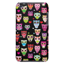 cute colourful owl kids pattern iPod touch Case-Mate case