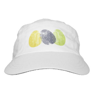 CUTE COLOURFUL WATERCOLOR EASTER EGGS MONOGRAM HAT