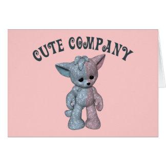 Cute Company Card