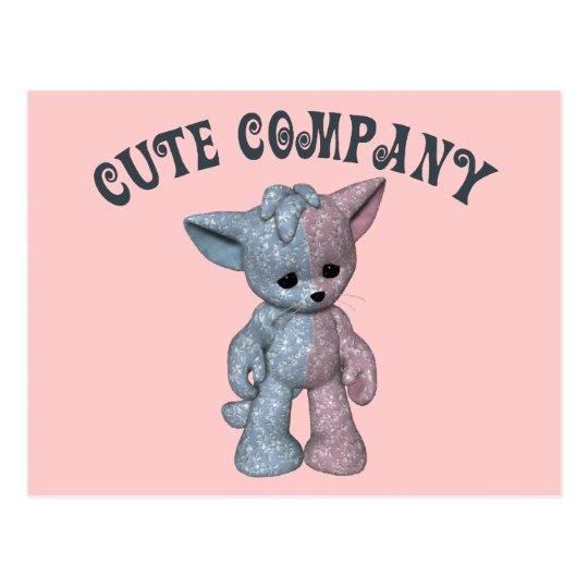 Cute Company Postcard