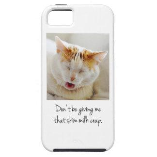 Cute Complaining Cat iPhone SE/5/5s Case