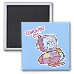 Cute Computer Chic Design Refrigerator Magnets