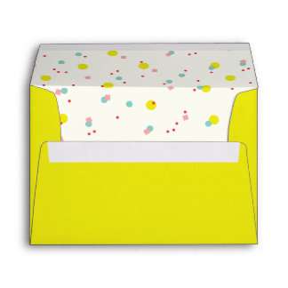 Cute Confetti Oh What Fun Dots Holiday Envelope