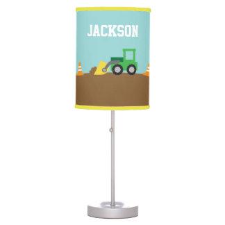 Cute Construction Vehicles Boys Room Decor Desk Lamps