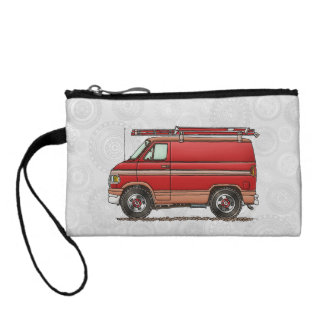 Cute Contractor Van Change Purse