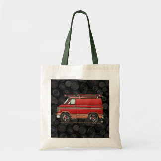 Cute Contractor Van Tote Bag