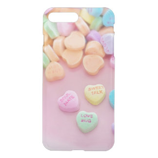 Cute conversation heart hearts candy pastel foodie iPhone 7 plus case