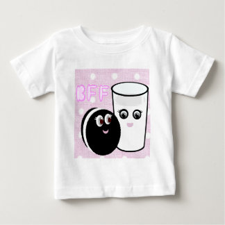 CUTE  COOKIE AND MILK  BFF BABY T-Shirt