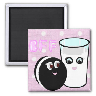 CUTE COOKIE AND MILK BFF FRIDGE MAGNETS