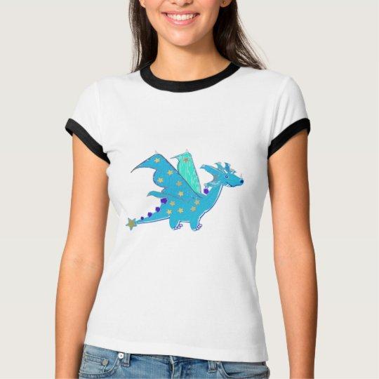Cute Cool Blue Dragon T-Shirt
