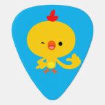Cute Cool Cartoon Chicken Guitar Pick