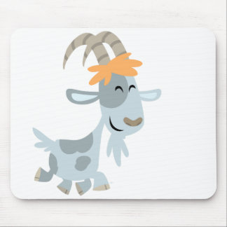 Cute Cool Cartoon  Goat Mousepad